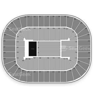 Greensboro Coliseum Seating Chart Concert