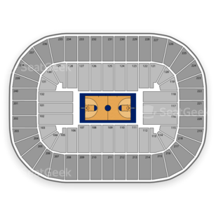 Greensboro Coliseum Seating Chart NCAA Basketball