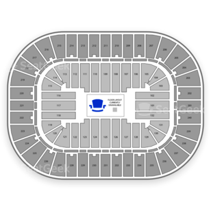 Greensboro Coliseum Complex Seating Chart Family