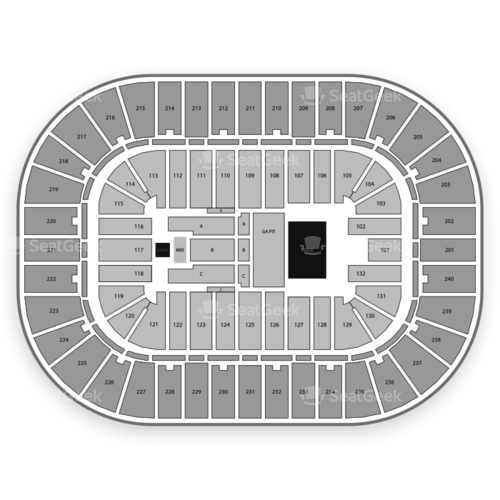 Greensboro Coliseum Seating Chart | SeatGeek on jamieson stadium greensboro nc, newbridge bank park greensboro nc, triad stage greensboro nc, castle mcculloch greensboro nc, carter-finley stadium raleigh nc,