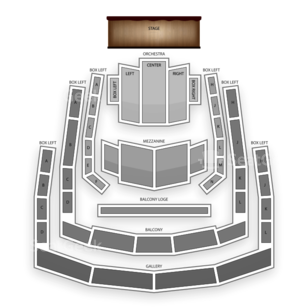 The Ordway Center for the Performing Arts Seating Chart Broadway Tickets National