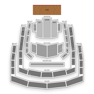 The Ordway Center for the Performing Arts Seating Chart Family