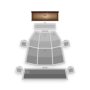 Phoenix Symphony Hall Seating Chart Comedy