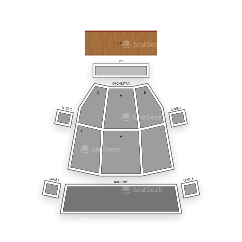 Phoenix Symphony Hall Seating Chart Dance Performance Tour