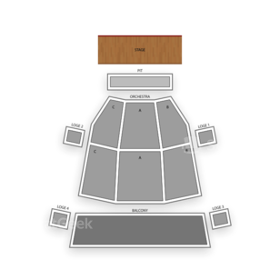 Phoenix Symphony Hall Seating Chart Theater