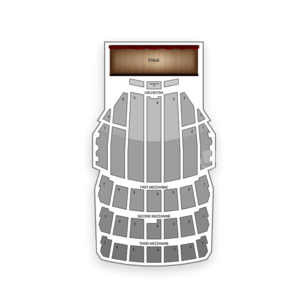 Radio City Music Hall Seating Chart Dance Performance Tour