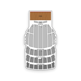 Radio City Music Hall Seating Chart Theater