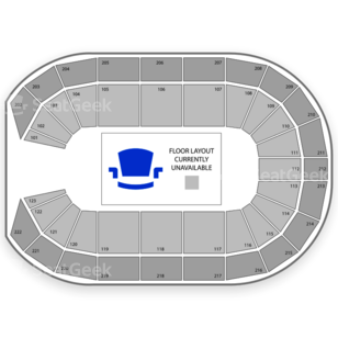 Landers Center Seating Chart Rodeo