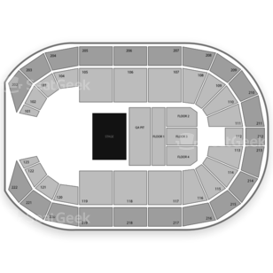 Landers Center Seating Chart Concert