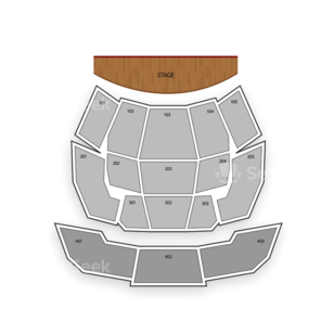 Aria Resort & Casino - Elvis Theatre Seating Chart Concert