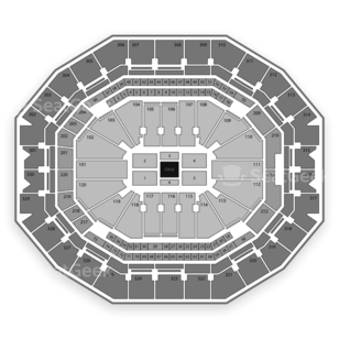 KFC Yum! Center Seating Chart Comedy