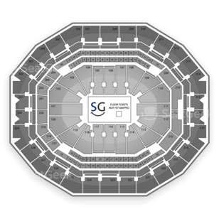 KFC Yum! Center Seating Chart Concert