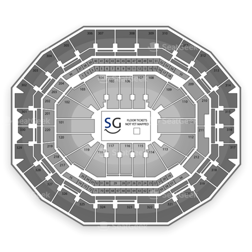 KFC Yum! Center Seating Chart Monster Truck