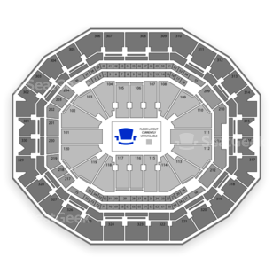 KFC Yum! Center Seating Chart Wwe