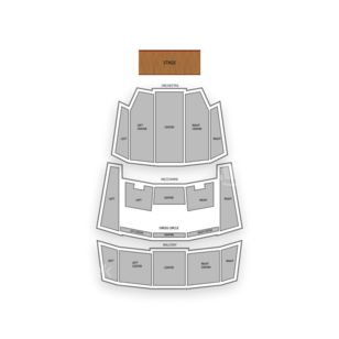 Queen Elizabeth Theatre Seating Chart Comedy