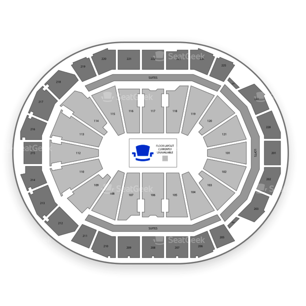 Fiserv Forum Seating Chart Rodeo