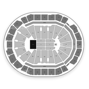 Fiserv Forum Seating Chart Concert