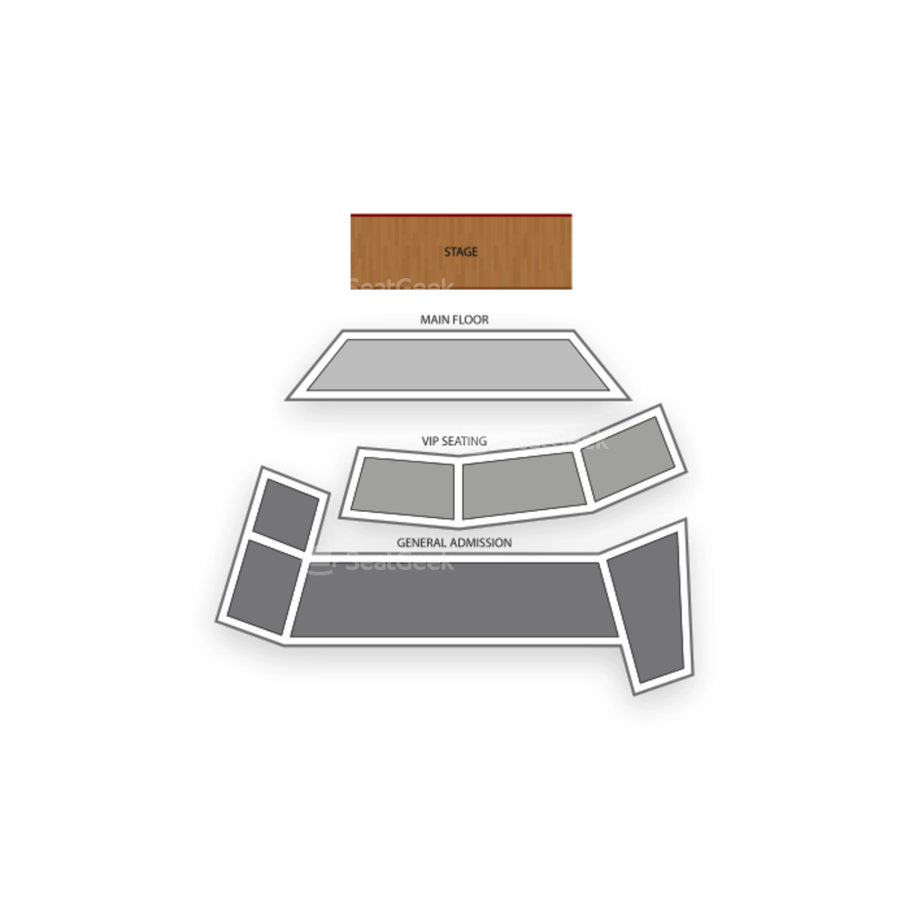 V Theater at Planet Hollywood Resort and Casino - Las Vegas Seating Chart Comedy