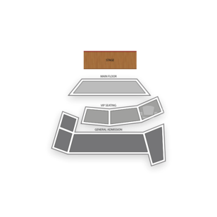 V2 Theater at Planet Hollywood Resort and Casino Seating Chart Comedy
