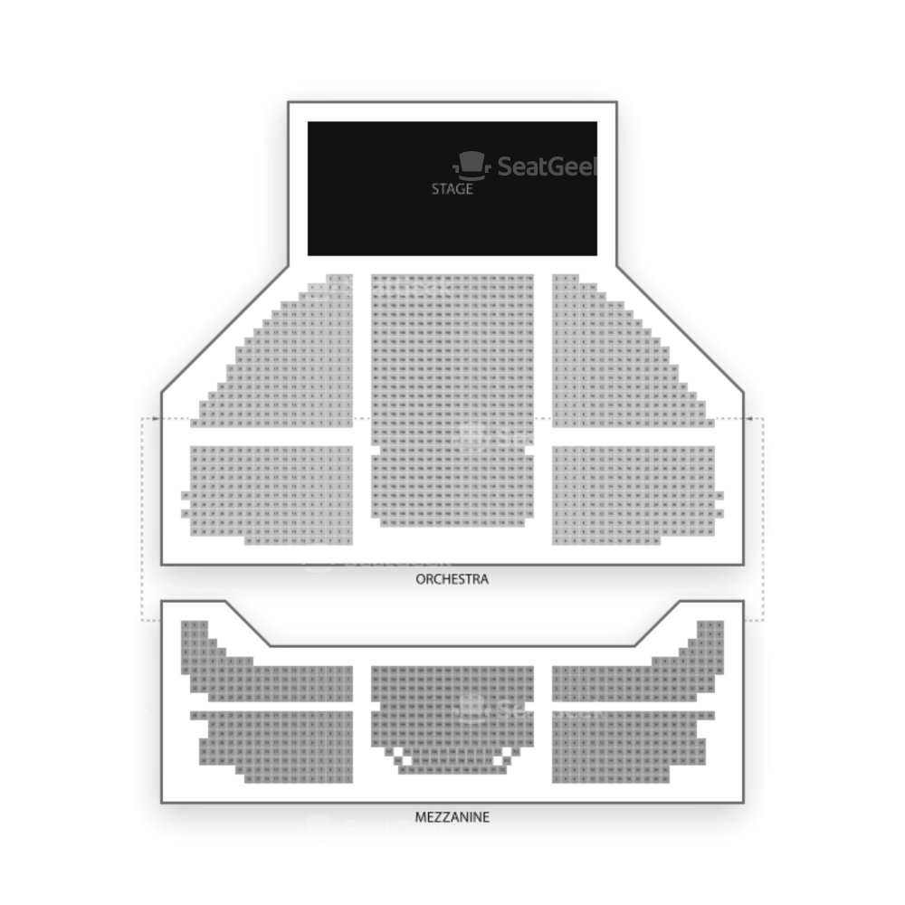 Gershwin Theatre Seating Chart Broadway Tickets National