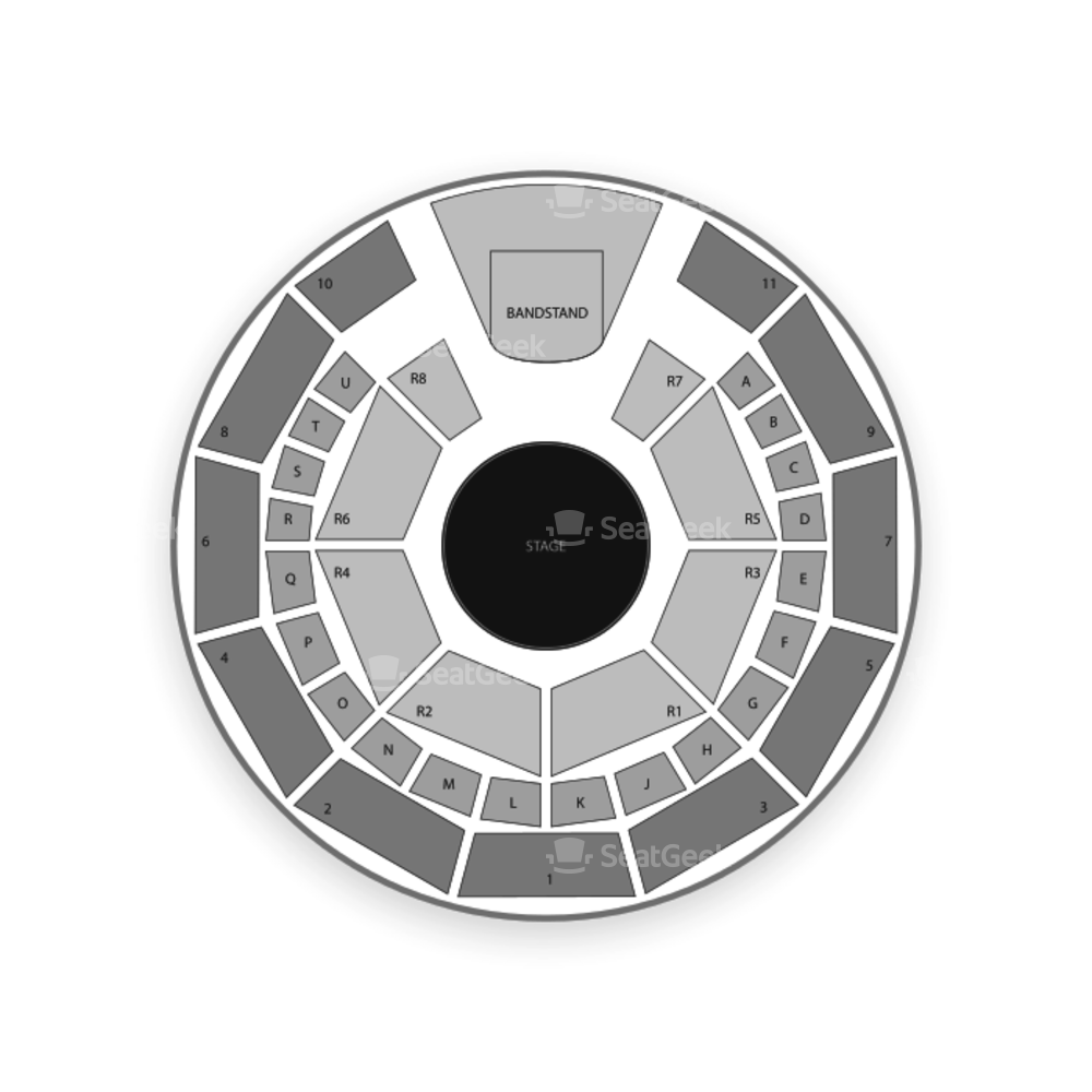 City Hall Plaza Seating Chart Concert