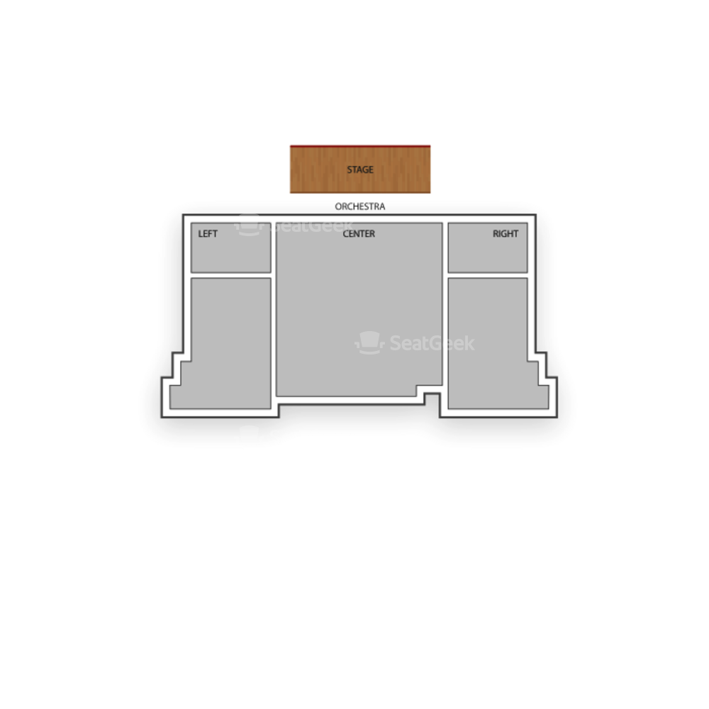 New World Stages / Stage 2 Seating Chart Broadway Tickets National