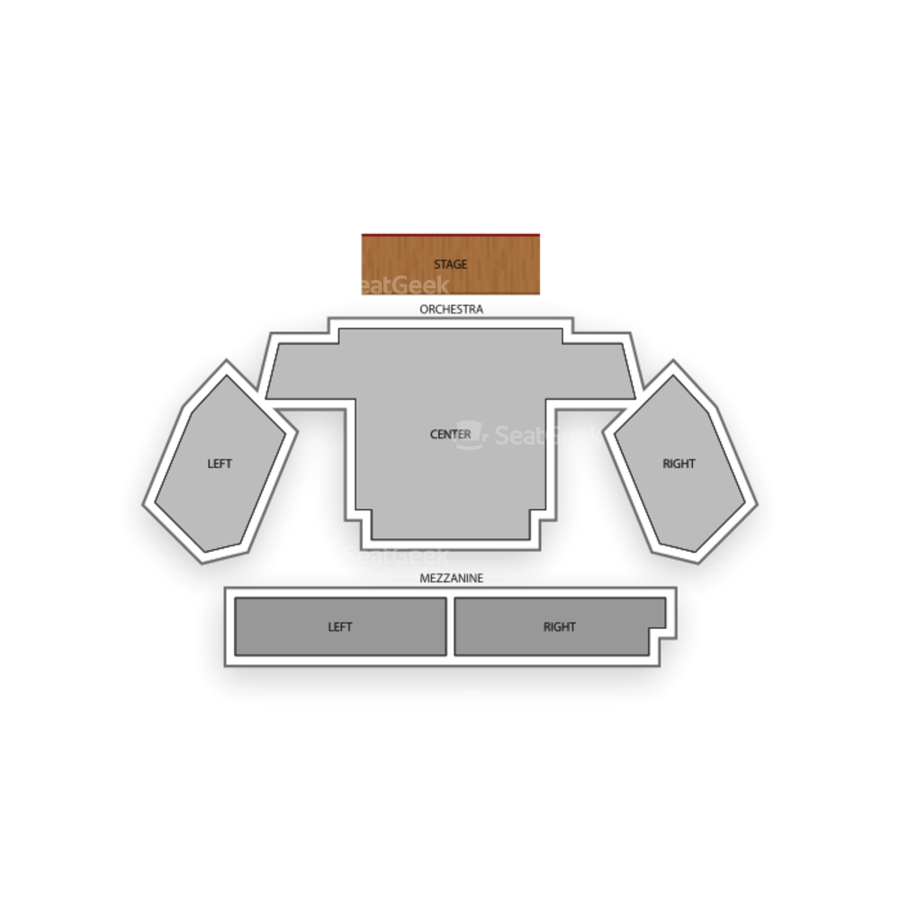 New World Stages - Stage 3 Seating Chart Broadway Tickets National