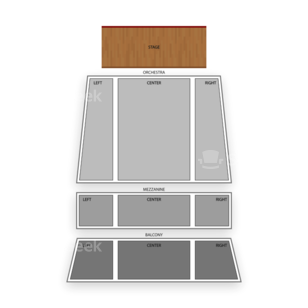 Bergen Performing Arts Center Seating Chart Comedy