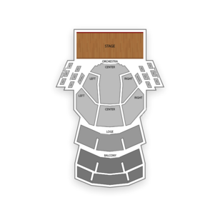 Procter and Gamble Hall Seating Chart Theater