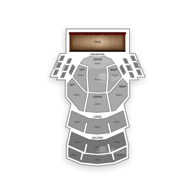 Procter and Gamble Hall seating chart Cincinnati Ballet