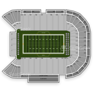 UNLV Rebels Football Seating Chart
