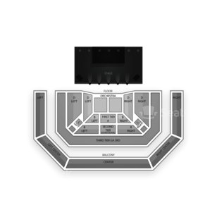 The Pageant Seating Chart Theater