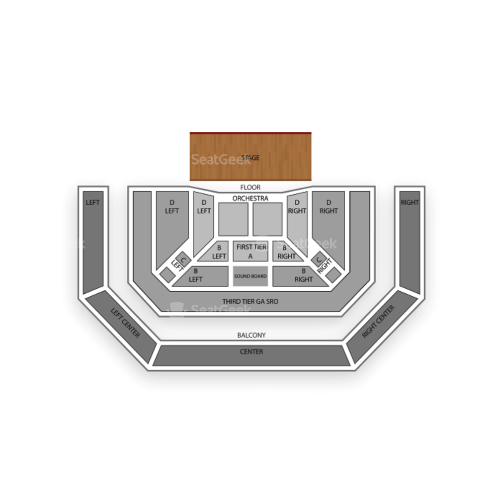 The Pageant Seating Chart Concert