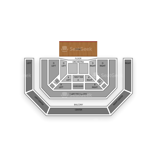 The pageant seating chart seatgeek