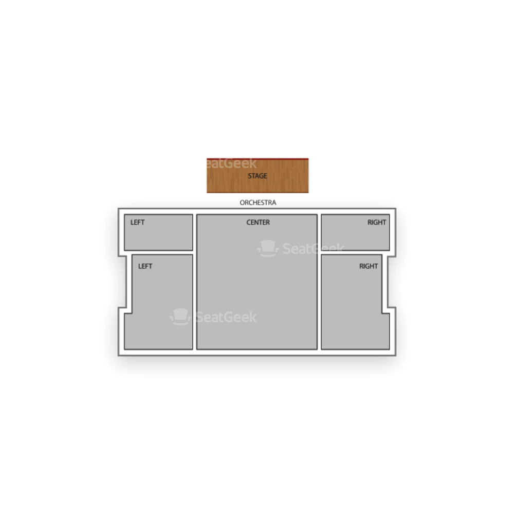 New World Stages / Stage 4 Seating Chart Broadway Tickets National