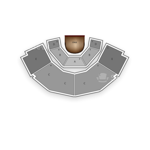 Stage Theatre Seating Chart Concert