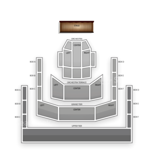 Mondavi Center Seating Chart Comedy