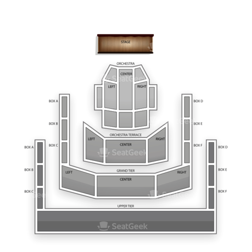 Mondavi Center Seating Chart Classical Orchestral Instrumental