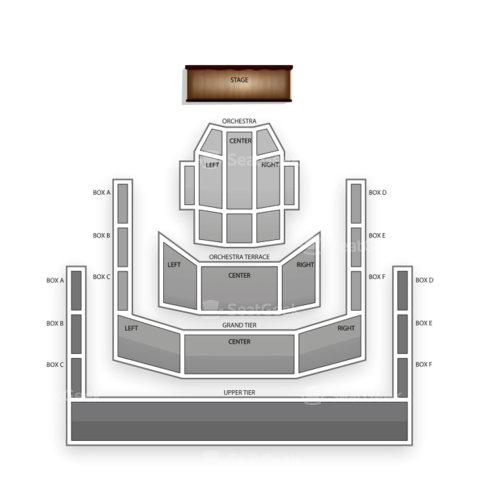 Mondavi Center seating chart Lara Downes