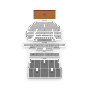 The Fillmore Detroit Seating Chart Dance Performance Tour