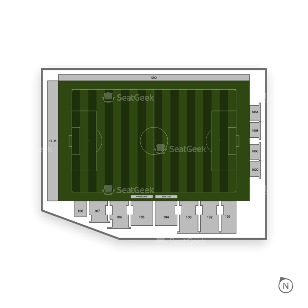 Highmark Stadium Seating Chart Us Minor League Soccer