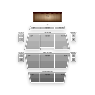 Fitzgerald Theater Seating Chart Classical