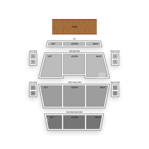 Fitzgerald Theater Seating Chart Theater