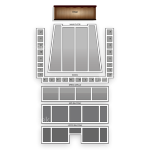 Detroit Symphony Hall Seating Chart Comedy