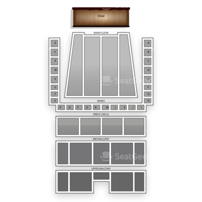 Detroit Symphony Orchestra Hall seating chart Terence Blanchard