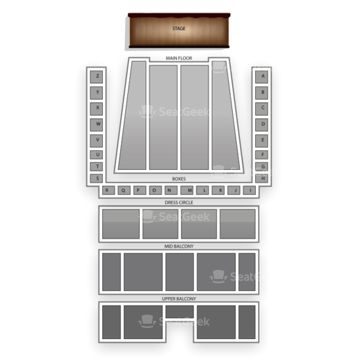 Detroit Symphony Hall Seating Chart