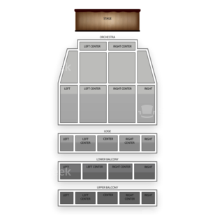Tower Theater Seating Chart Theater