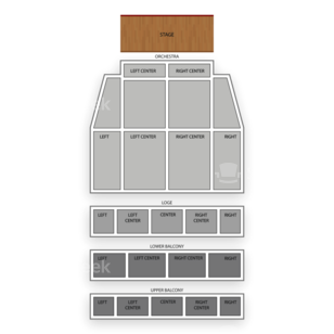 Tower Theater Seating Chart Comedy