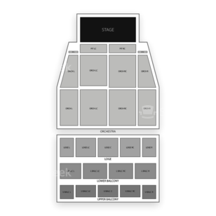 Tower Theater Seating Chart Dance Performance Tour
