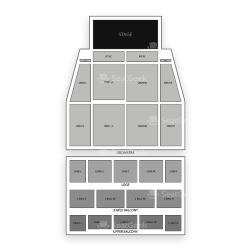 Tower theater seating chart seatgeek